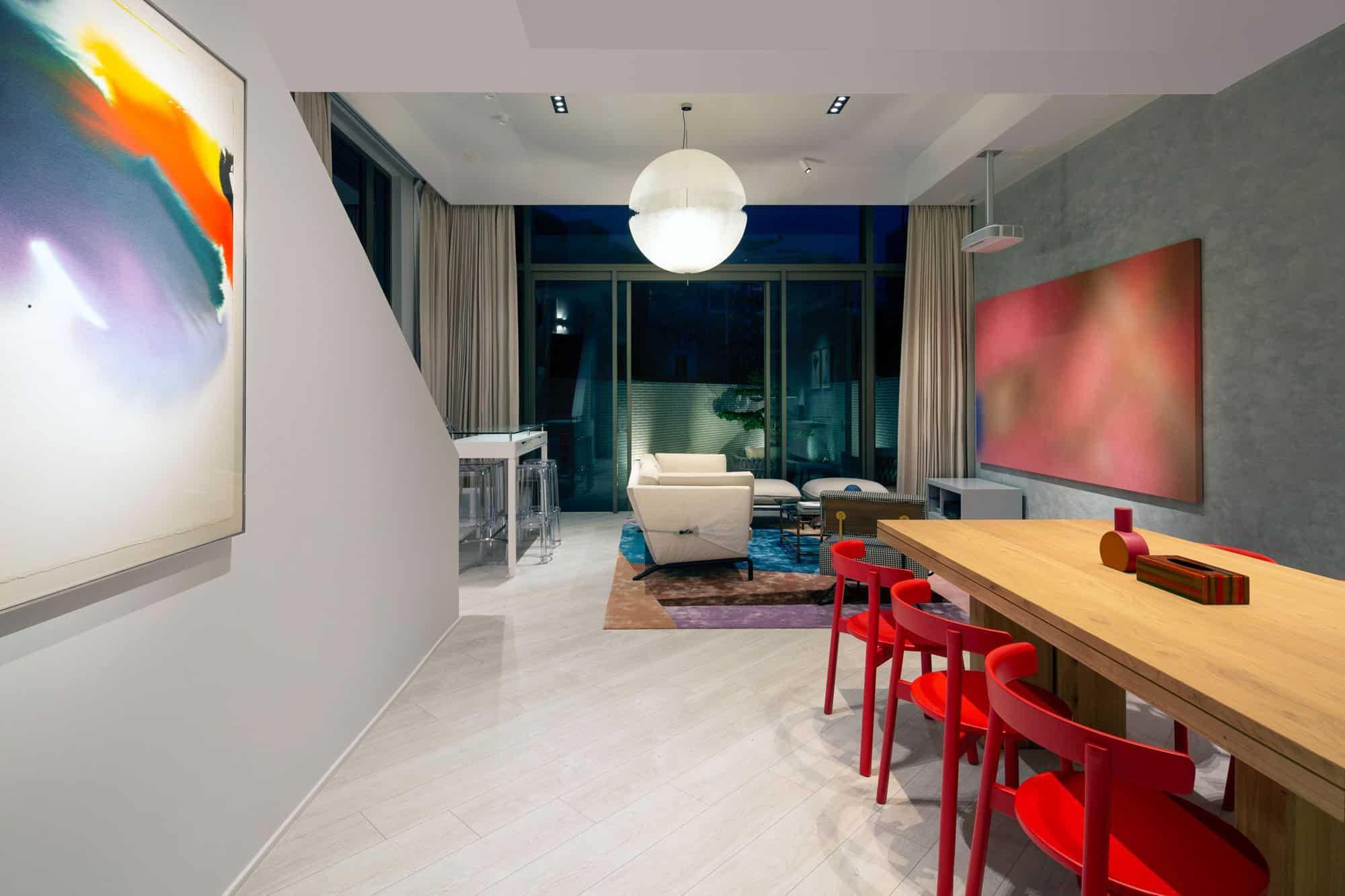 Осветление Napa singapore house